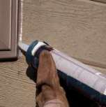 Home Maintenance Item 3 - Seal exterior fixtures to prevent water leaks