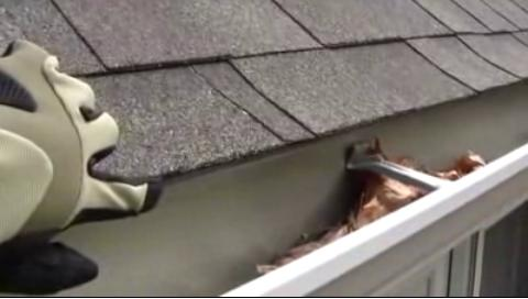 Gutter Cleaning Video
