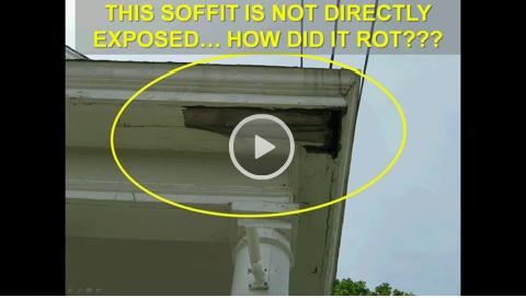 Soffit Fascia Wood Rot Repair Cincinnati Oh Call 513